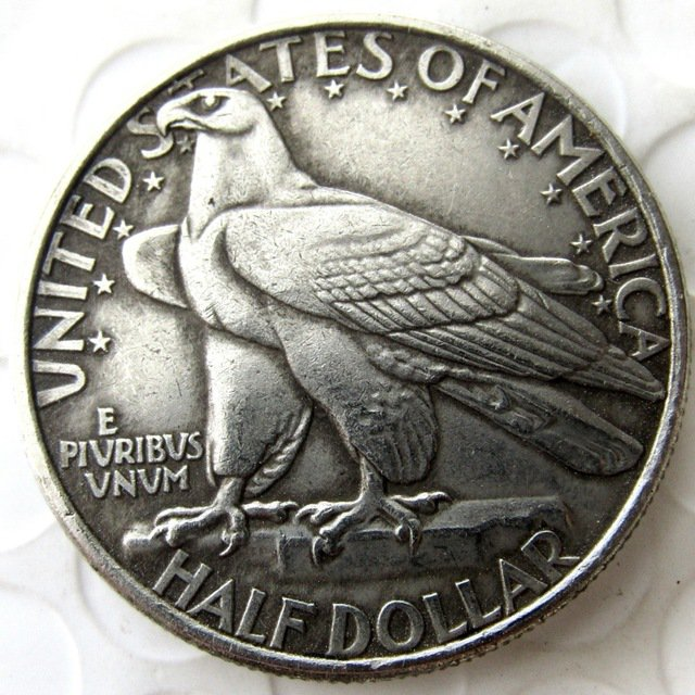 US 1935 Connecticut Commemorative Half Dollar Copy Coin