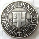 1936 YORK COMMEMORATIVE HALF DOLLAR Dollars Copy Coin