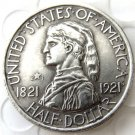 US 1921 2*4 Missouri Commemorative Half Dollar Copy Coin