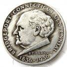 US 1936 Bridgeport Connecticut Silver Half Dollar