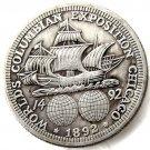 1892 Columbian Exposition Commemorative Half Dollar Copy Coin