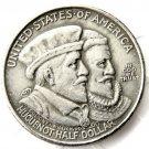 1924 Huguenot-Walloon Tercentenary half dollar copy coins