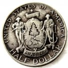 1920-Maine Centennial half dollar factory coins copy