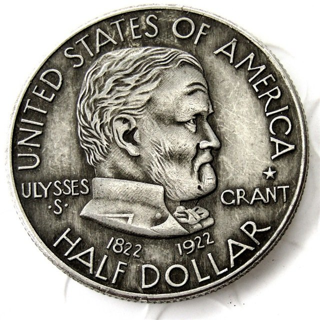 1922 US ULYSSES S. GRANT COMMEMORATIVE HALF DOLLAR Coin Copy