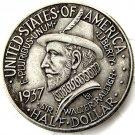 1937 50c Roanoke Commemorative Half Dollar Commem - Gorgeous Coin Copy