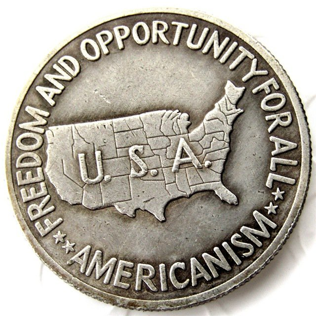 Uncirculated 1952 Washington Carver Comm Silver Half dollar Coin Copy