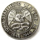 1946 Iowa Centennial Commemorative Half Dollar Coin Copy
