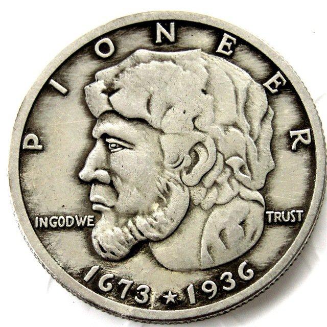 1936 Elgin Commemorative Half Dollar Coin Copy
