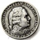 1927 VERMONT SESQUICENTENNIAL Half Dollar Coin Copy