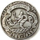 1935 Hudson Comm. Half Dollar Coin Copy