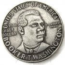 1946 Booker T. Washington Memorial Silver Half Dollar Coin Copy