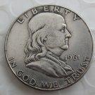 1961D Franklin Silver Plated Half Dollar Coins Copy