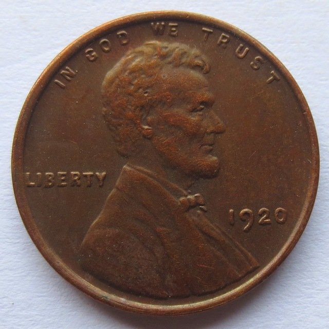 United States 1920 Lincoln Head Cent Copy Coins