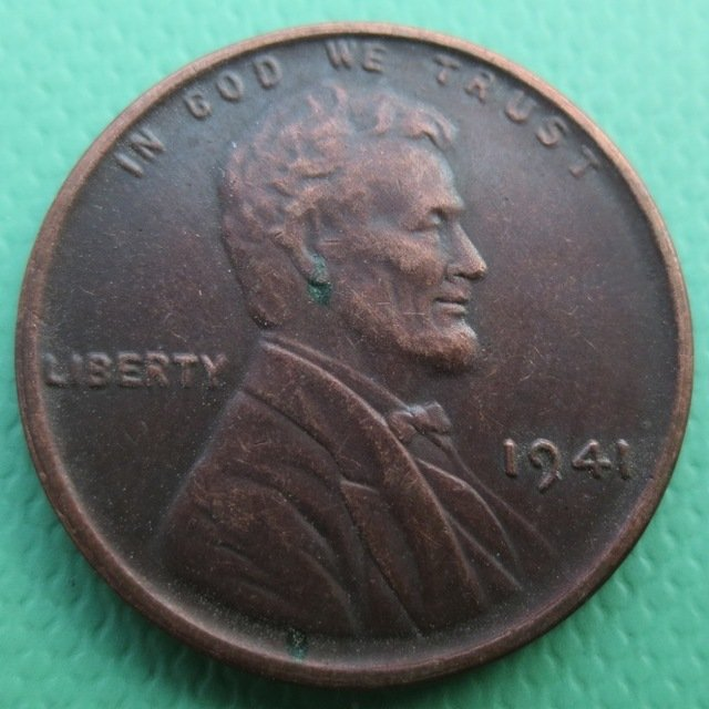 United States 1941 Lincoln Head Cent Copy Coins
