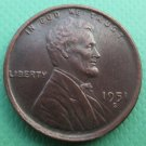 United States 1951-S Lincoln Head Cent Copy Coins