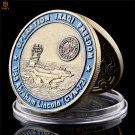 USA Archangel Law Enforcement Sanit George Pray And Free Uss Abraham Lincoln Copy Coin