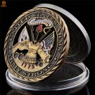 1775 US Army Air Force Core Value Military Hollow Bronze USA Challenge Copy Coin For Collection