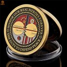 1950-195 WW II Korean War Veterans Glory Medal Challenge Copy Coin For Collection