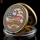 USA Army Navy Air Force Marine Corps Coast Guard Freedom Eagle Copy Coin For Collection