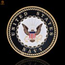 US Navy Put On The Full Armor Of God Defend The Faith Gold Military Copy Coin For Collection