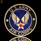 U.S. Army Air Corps Reinvigorated American Veterans Military Copy Coin For Collection