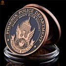 USA Phoenix Police The Archangel St. Michael Bronze Token US Challenge Copy Coin For Collection