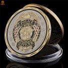 USA Law Enforcement Patron Archangel St. Michael Free Eagle Bronze Copy Coin For Collection