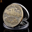 USA 9/11 Attack Bronze Non-Currency Commemorative Challenge Copy Coin For Collection