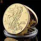 2013 USA Statue of Liberty Replica 999 fine Gold Commemorative Copy Coin For Collection