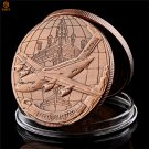 USA Military Fighter C-17 Globemaster Brass Plated Challenge Copy Coin For Collection