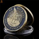 The Archangel St.Michael Our Fallen Officer Service Honor Challenge Copy Coin For Collection