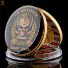 US Army Sniper One Shoot One Kill Gold Plated Free Eagle Military Copy Coin For Collection