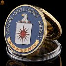 USA CIA Central Intelligence Agency Great Seal Of The United States Copy Coin For Collection