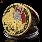 WW II D-Day Normandy Juno Beach Military Canadian The 3rd Infantry Division Copy Coin For Collection