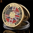 WW II 1944.6.6 D-Day Normandy Amphibious War 70th Anniversary Military Copy Coin For Collection