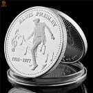 1935-1977 USA Rock Music Singer Silver Plated Celebrity Copy Coin For Collection