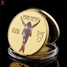 Dance King Michael Jackson Gold Anniversary Gifts Famous Musician Copy Coin For Collection