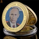 Russian President Vladimir Vladimirovich Putin Gold Plated Celebrity Copy Coin For Collection