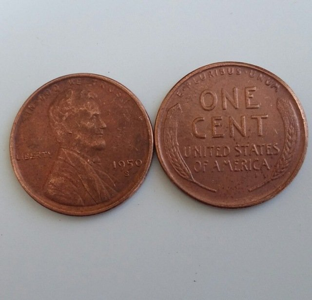 1 Pcs 1950s LINCOLN ONE CENTS COPY Coin