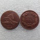 1 Pcs 1857 Flying Eagle Cents Copper Manufacture copy coins