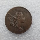 1 Pcs 1794 LIBERTY CAP HALF CENT - HEAD RIGHT copy coins Copper Manufacture