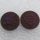 1 Pcs 1856 Flying Eagle Cents Patterns Copy Coins Copper Manufacture