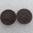 1 Pcs 1855 Flying Eagle Cents Patterns Copy Coins Copper Manufacture