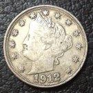 1 Pcs 1912 liberty head nickels five cent copy coins