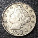 1 Pcs 1913 liberty head nickels five cent copy coins