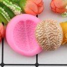 1 Pcs 3D Brain Shape Cake Silicone Molds DIY Party Cake Fondant Chocolate Candy Baking Mold