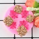 1 Pcs Christmas Gifts Shape Silicone Mold Craft Cake Decorating Tools DIY Handmade Molds