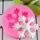 1 Pcs Christmas Snowflake Silicone Mold Cake Baking Fondant Molds Cake Decorating Molds
