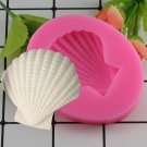 1 Pcs Sea Shell Cake Silicone Mold Baby Party Fondant Cake Tools Chocolate Candy Moulds