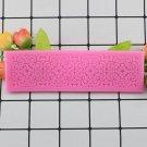 1 Pcs Silicone Mold Fondant Cake Lace Embossed Cake Mold Sugar Lace Mat Cake Decorating Moulds